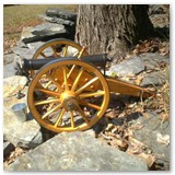 15 inch Wood Cannon Wheel